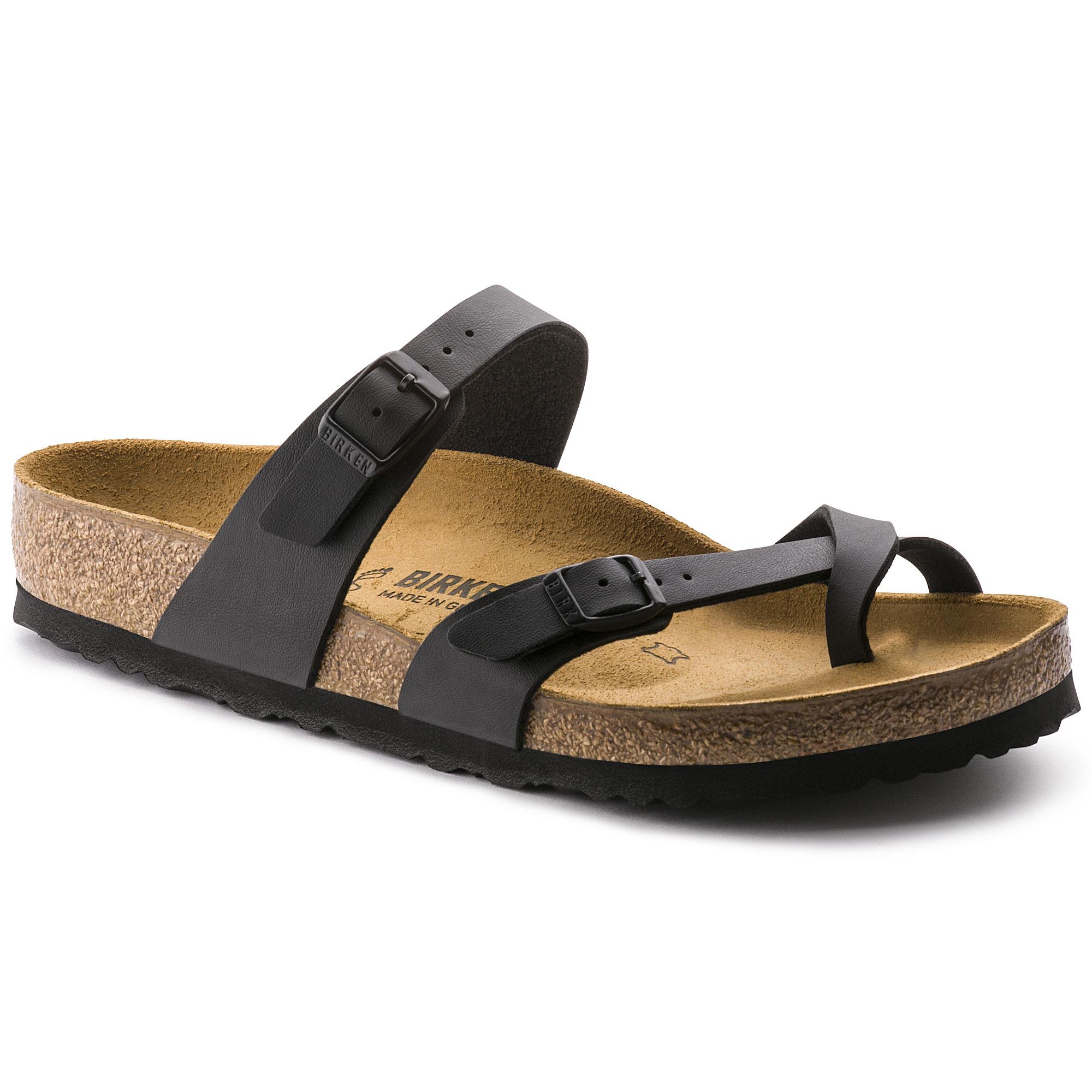 Birkenstock Mayari, Flip Flops Sandals , Black Schwarz