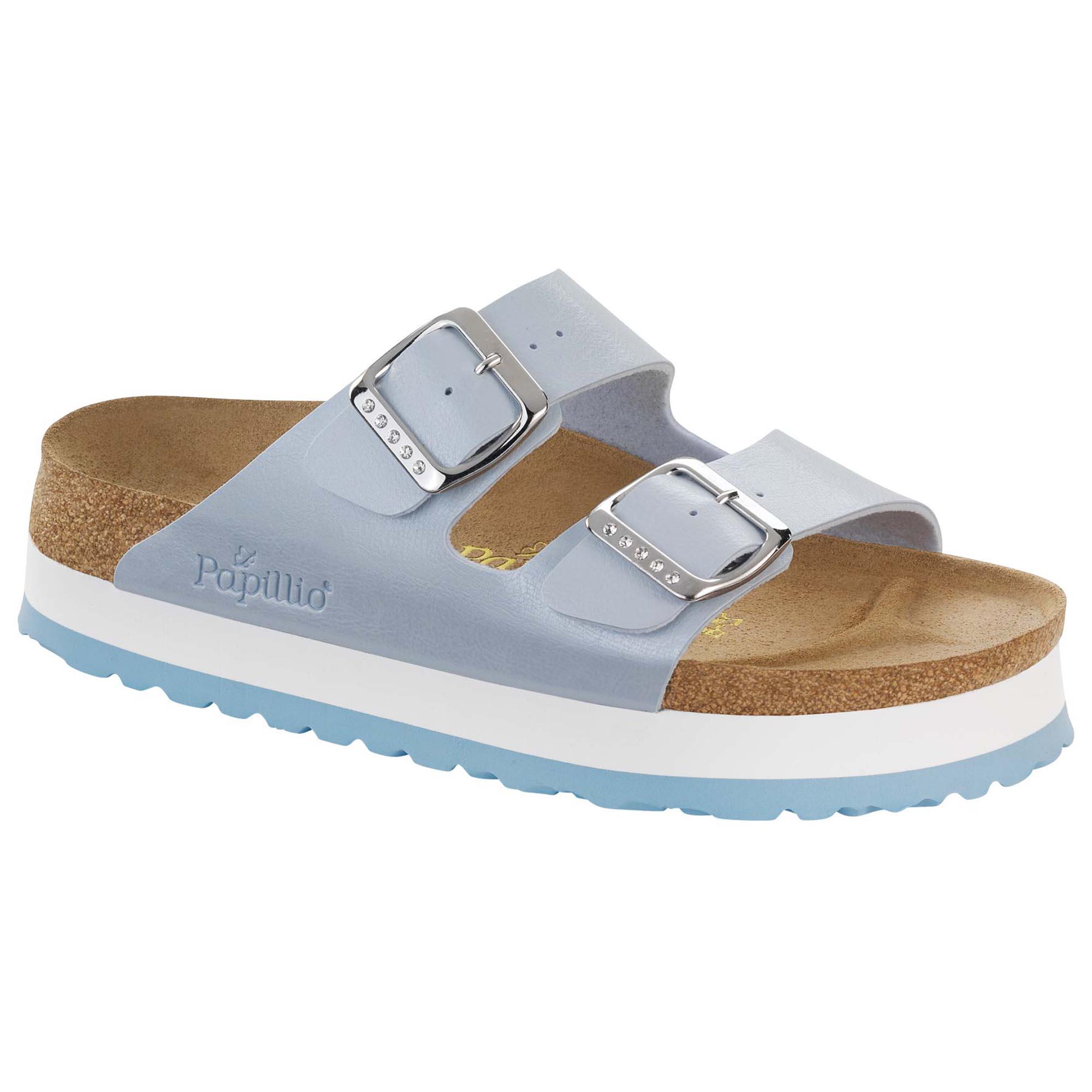 Birkenstock Papillio arizona platform sandals   Luisaviaroma