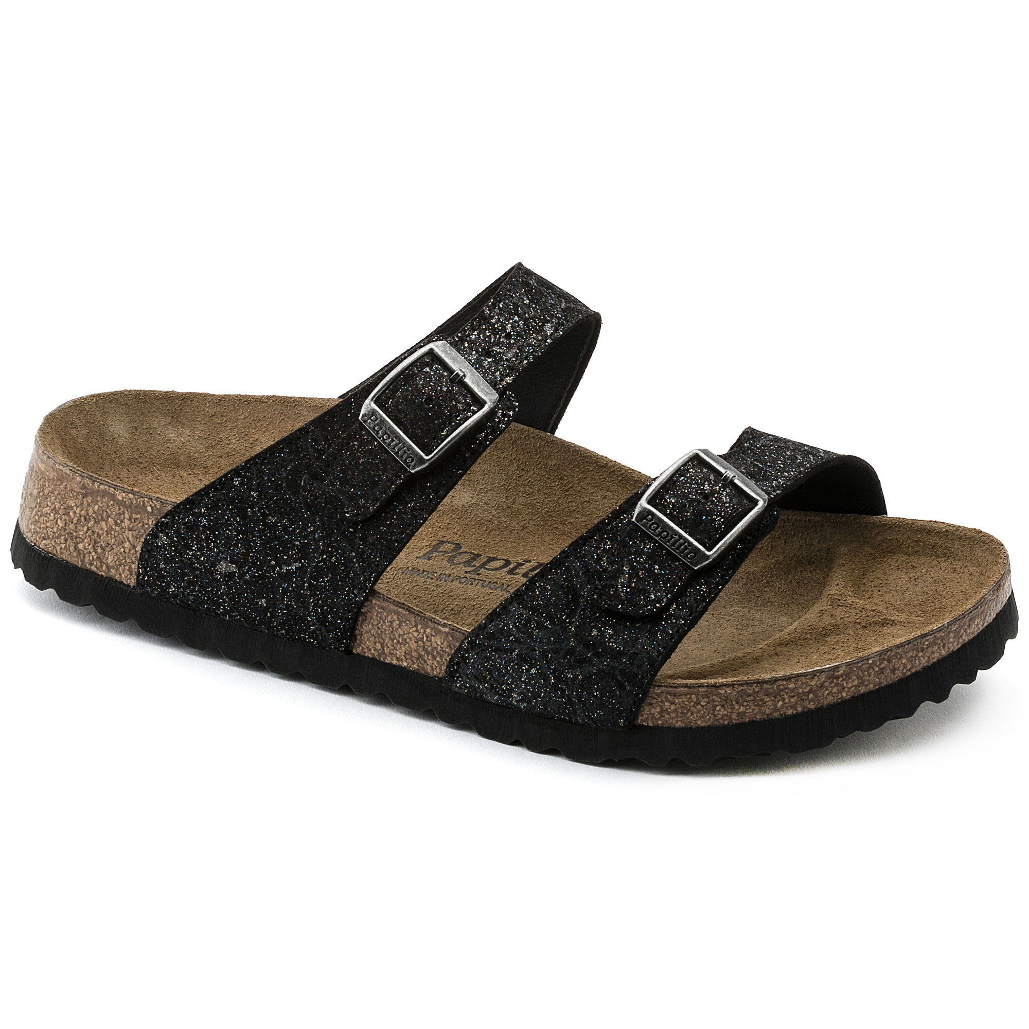 Download Black Glitter Birkenstocks JPG