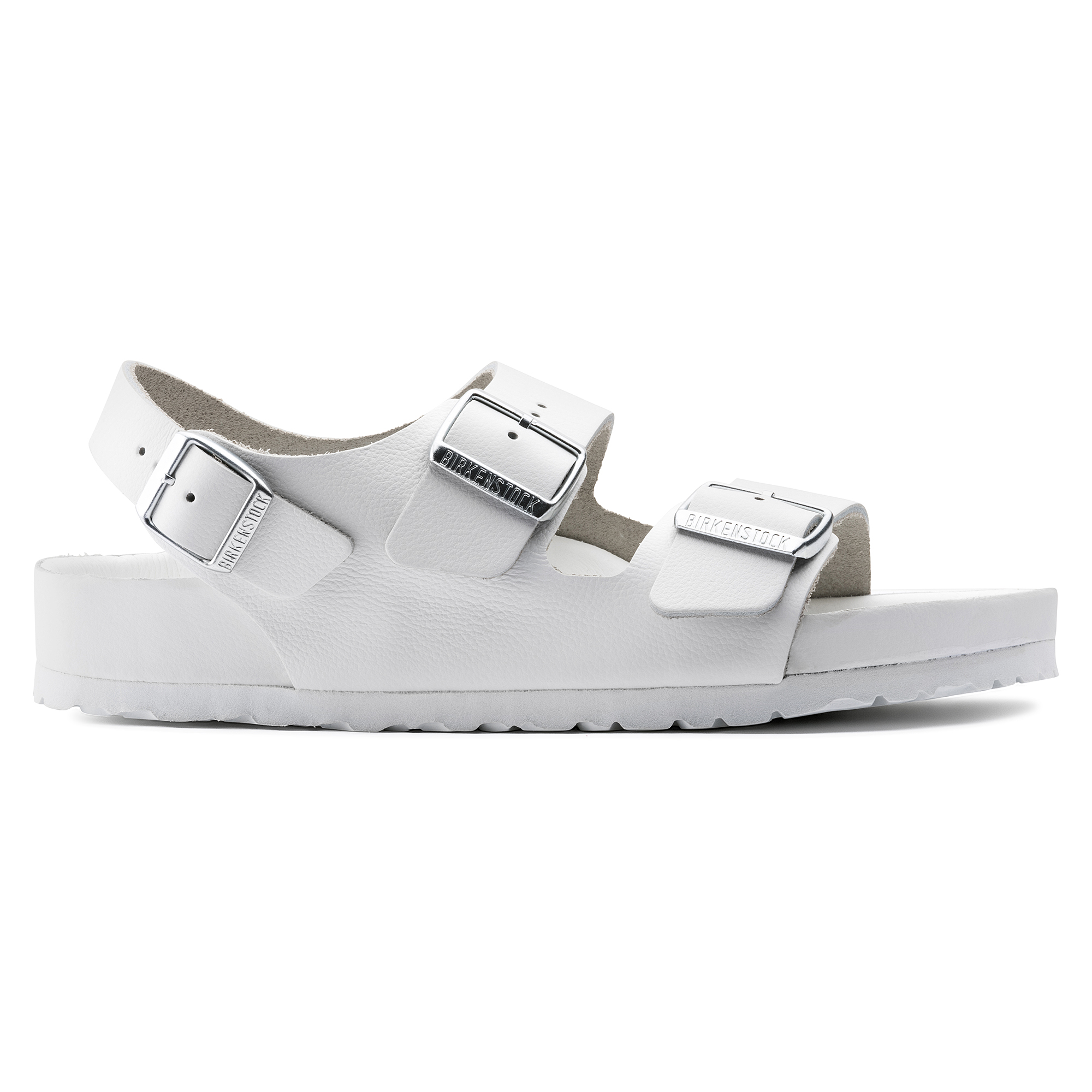 2c162f6ccc7 ... Milano Natural Leather White