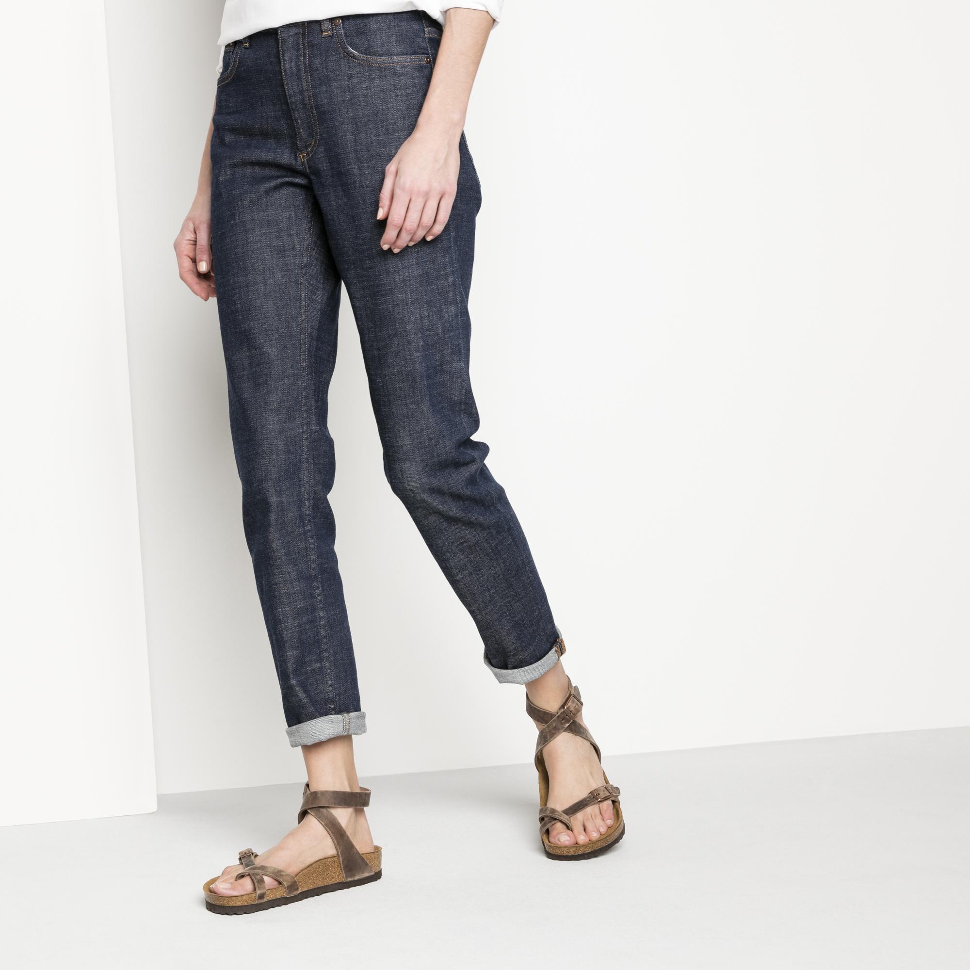 Yara Oiled Leather Schwarz   online kaufen bei BIRKENSTOCK