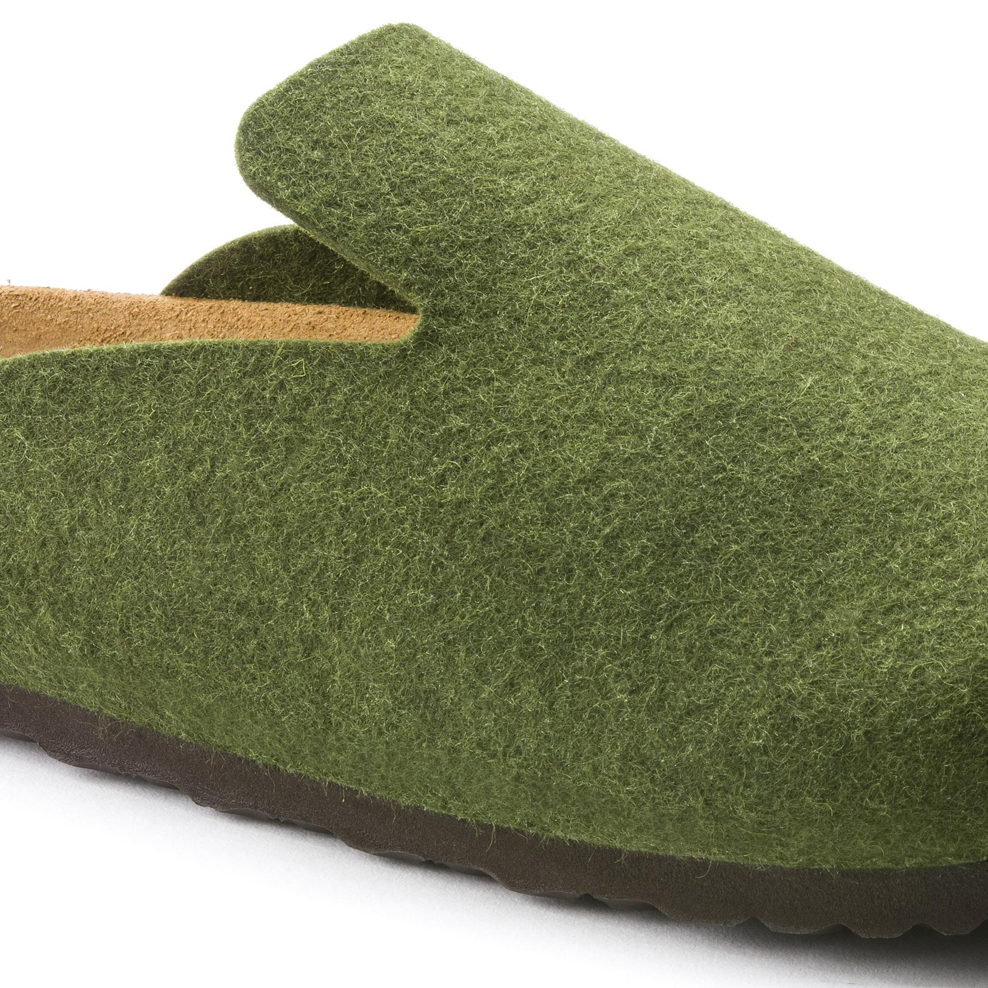 Details about NEW Birkenstock Ladies Brown Felt Clogs Mules Sandals UK Size 4.5 EU 37