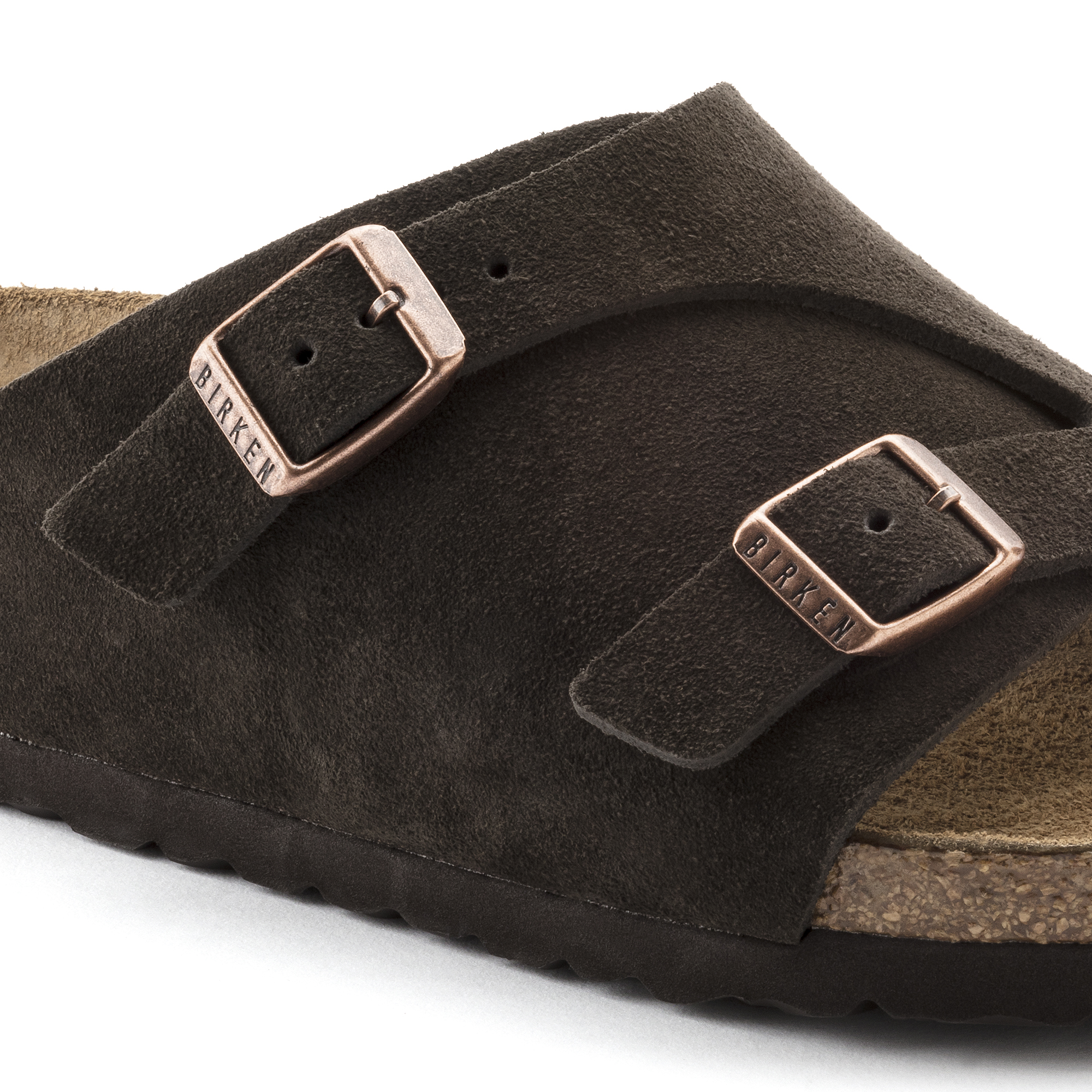 41f24a204cbe2 ... Zürich Suede Leather Soft Footbed Mocha ...