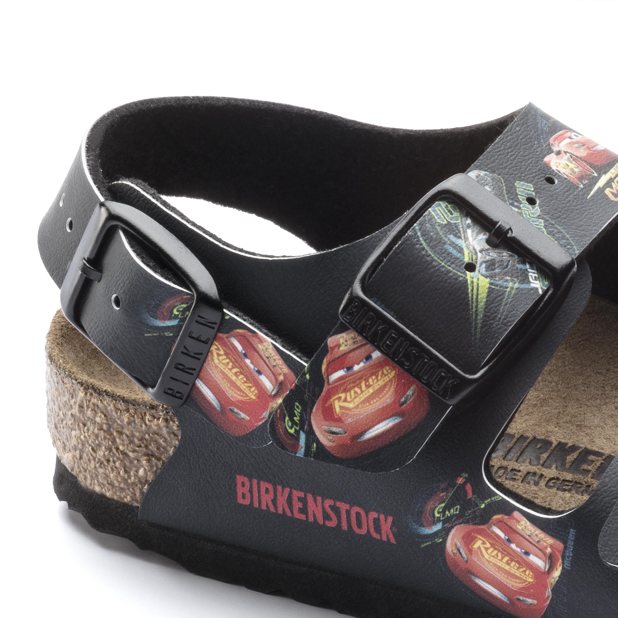 Birkenstock Sandale Milano kids cars 3 darkblue 1008673 1008674