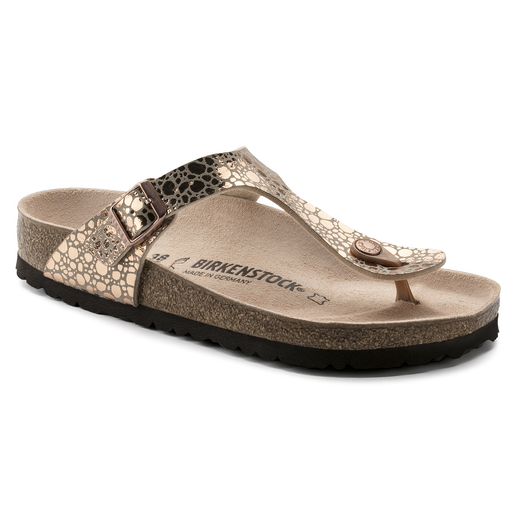 Birkenstock Gizeh 1005674 Normal Copper Damen z7nSmzxK