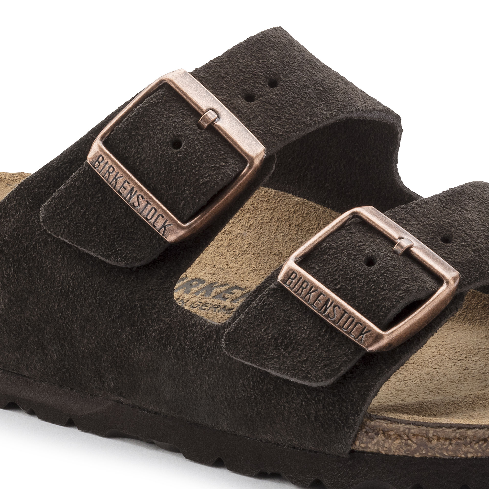 a9c99d6403f9 ... Arizona Suede Leather Mocha ...