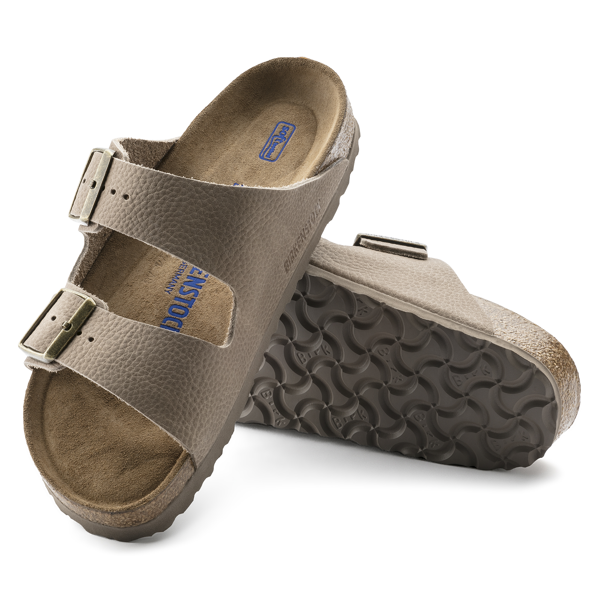 BIRKENSTOCK ARIZONA SFB STEER NUBUCK LEATHER