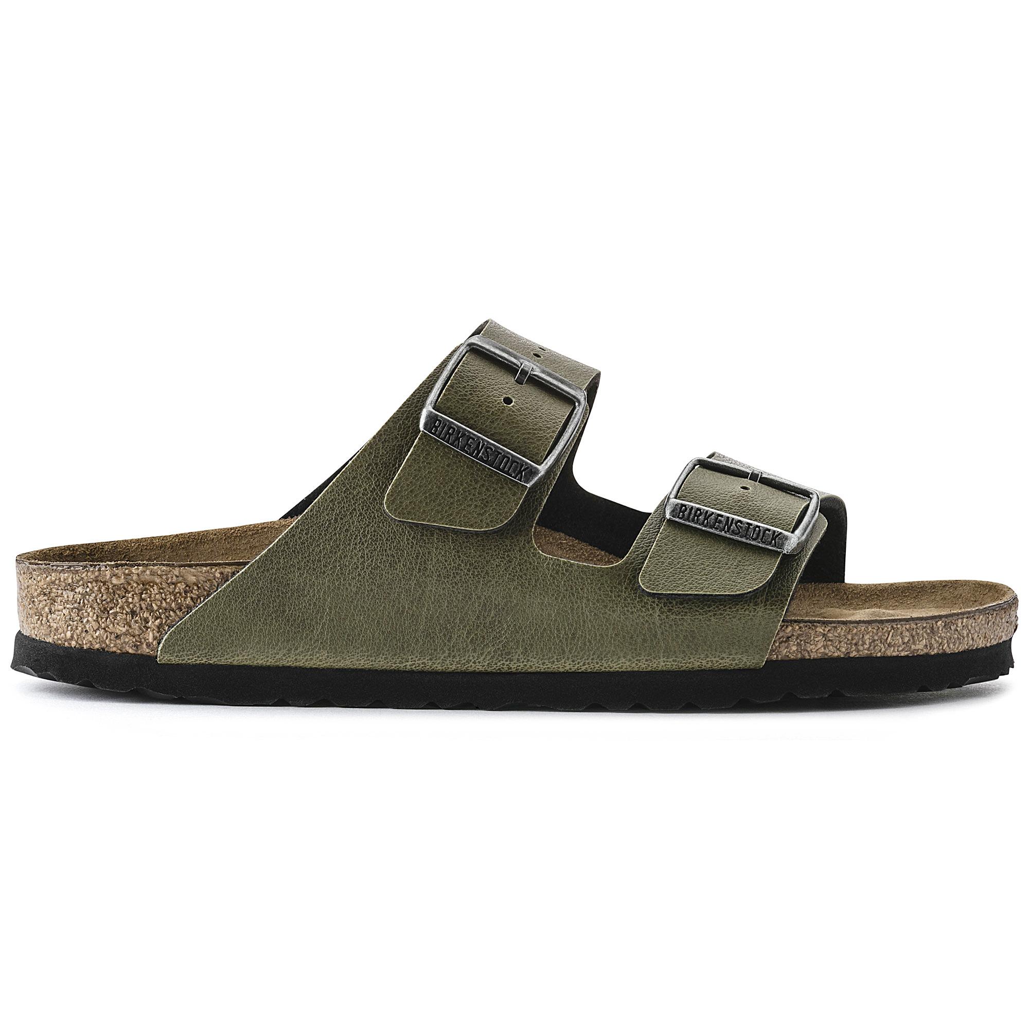 36776a3ba Arizona Birko-Flor Pull Up Olive | shop online at BIRKENSTOCK