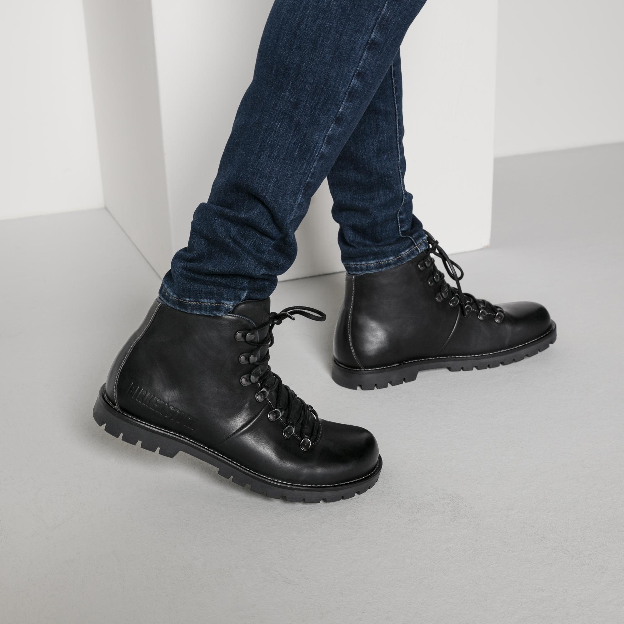 hancock oiled leather ブラック birkenstockでオンラインショッピング