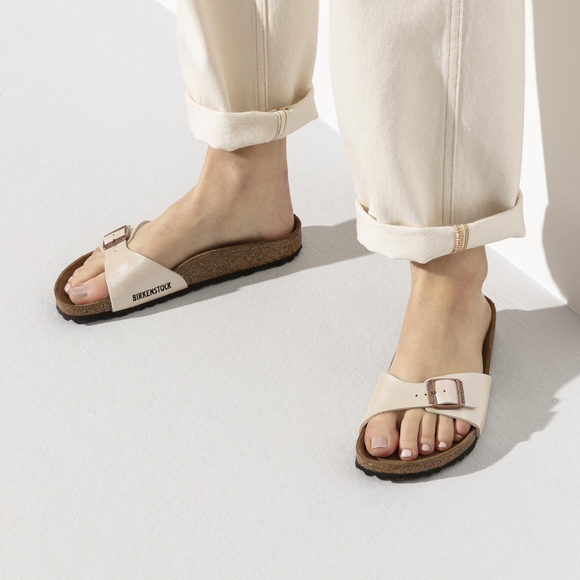 Birkenstock SandalsWhiteGraceful Fashion Birkenstock