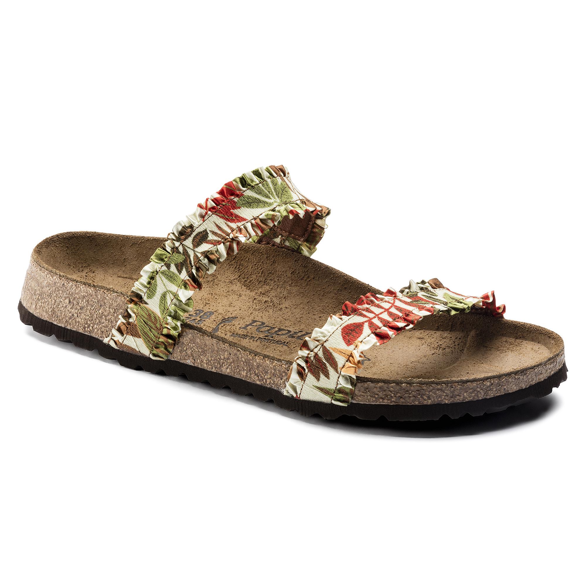 Curacao Stretch Flower Frill Brown ... 36a69c228eb