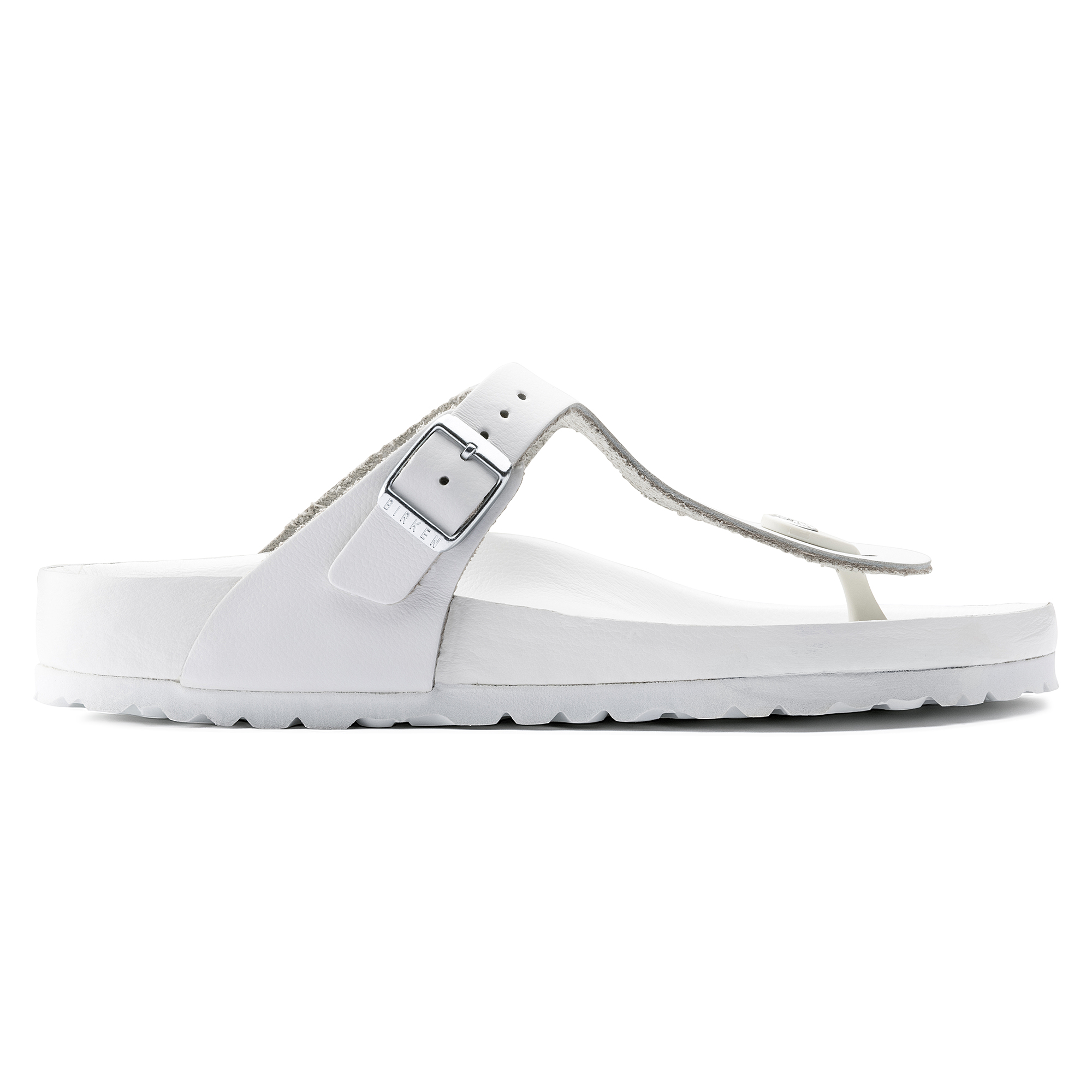 895712d4a76 ... Gizeh Natural Leather White ...