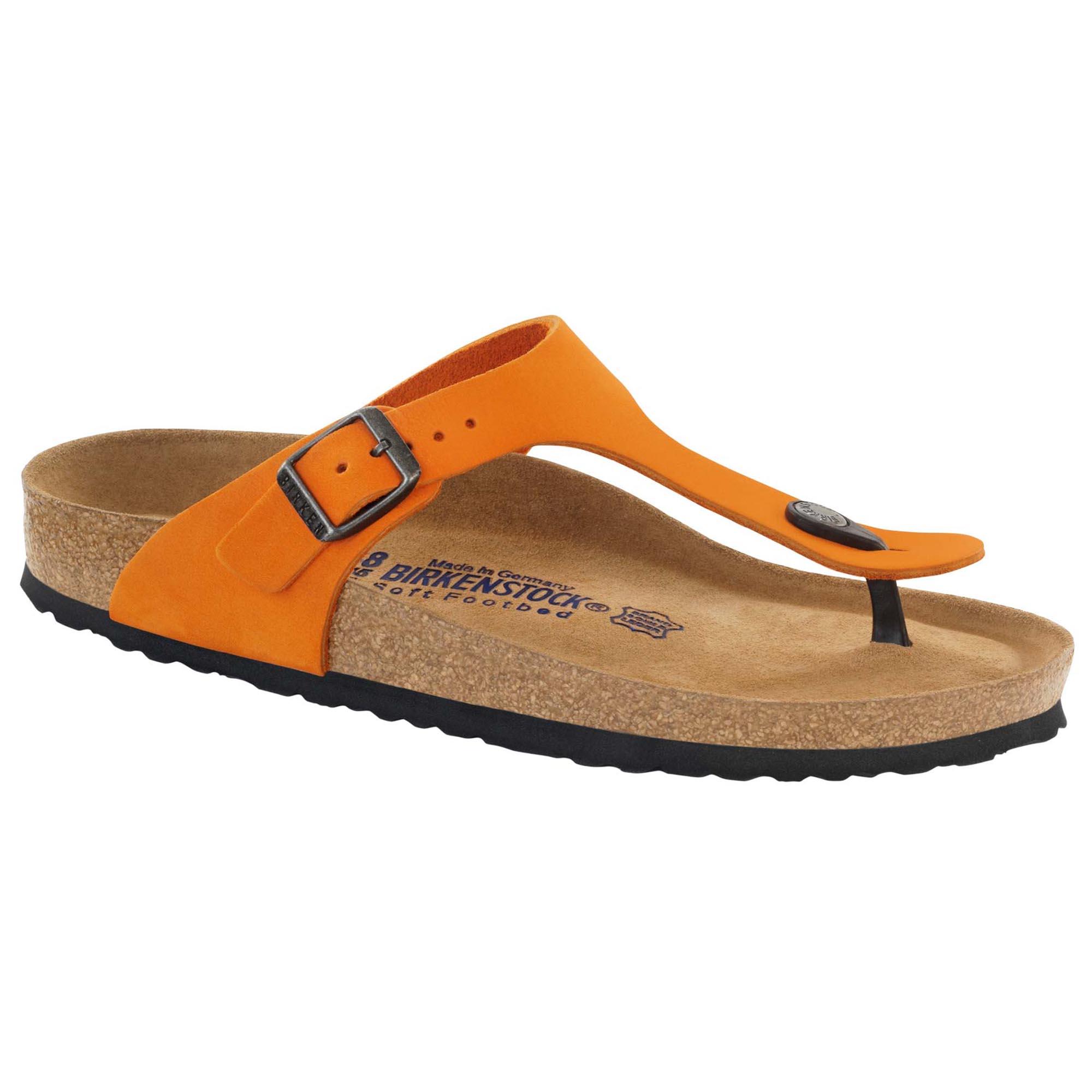 Gizeh Nubuck Leather Orange  f858e4a11360