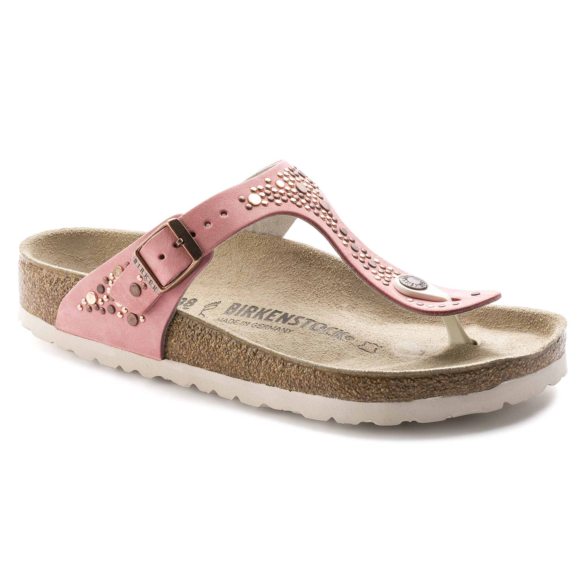 0664f43379b4 Gizeh Nubuck Leather Rose