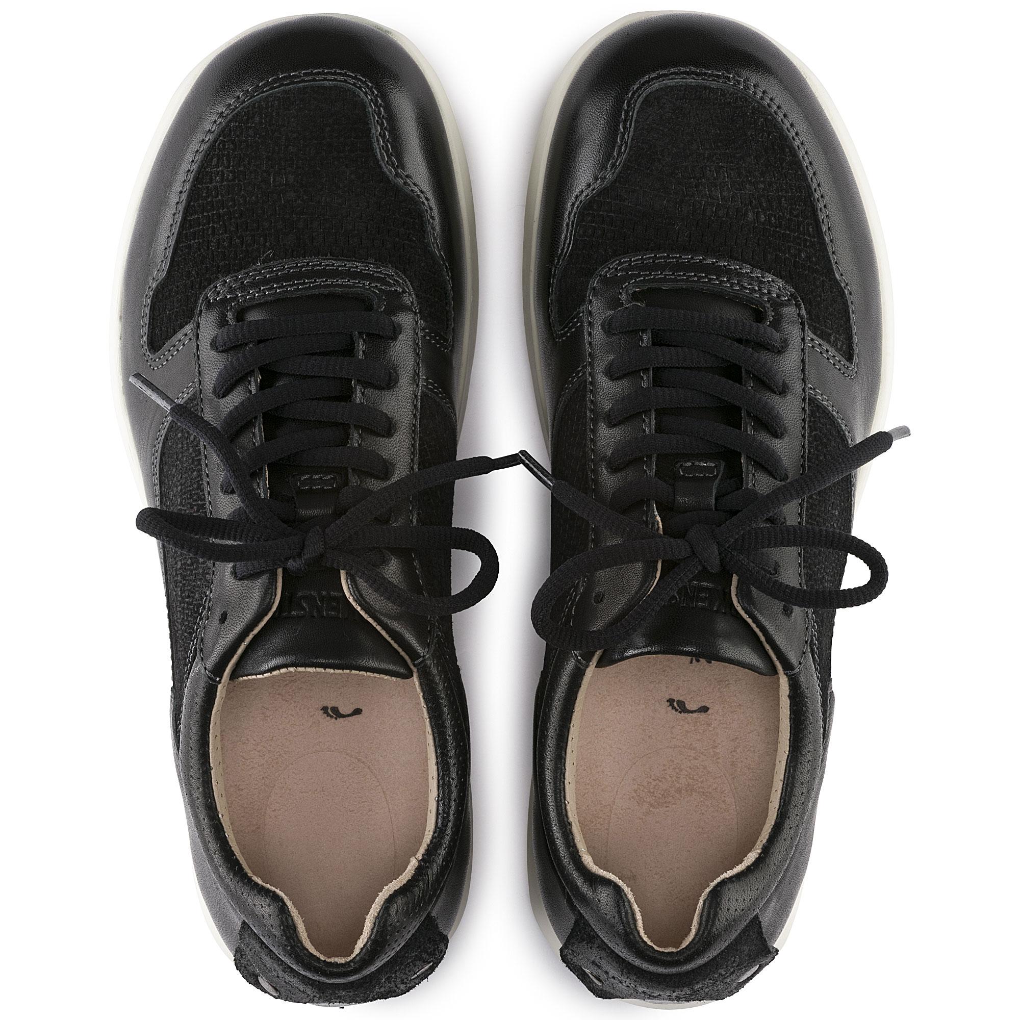 Cincinnati Suede Leather Black
