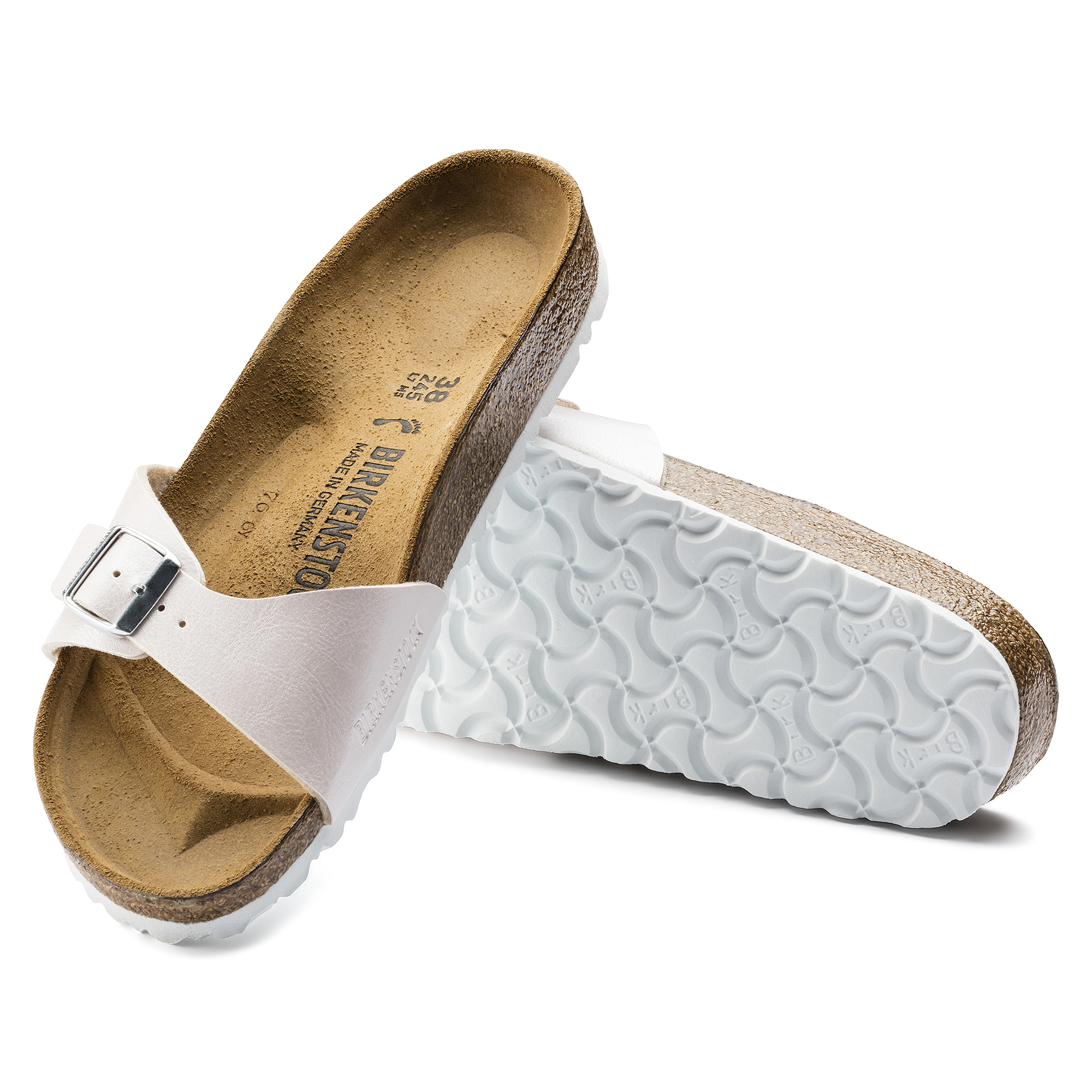 Birkenstock MADRID Damen Sandalette Pantolette 1006377 gracefulmauve , Größe:41 EU