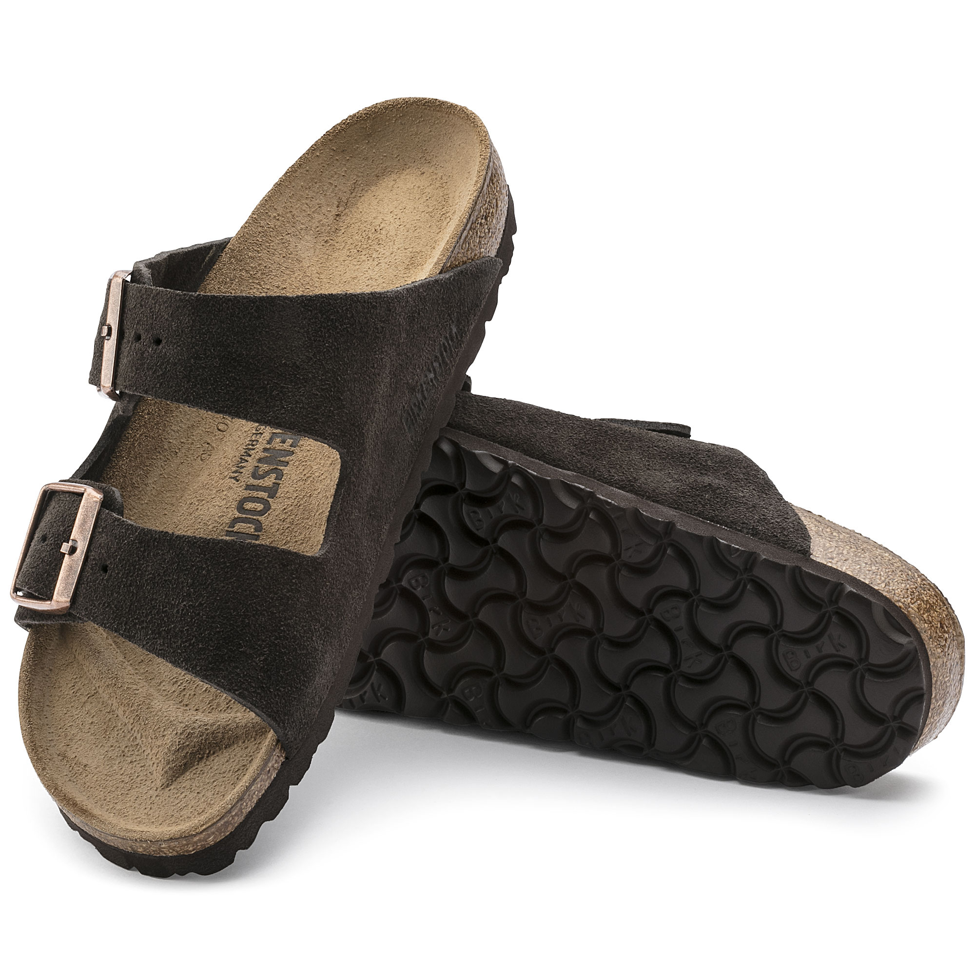 fbd9bb2307bd Arizona Suede Leather Mocha  Arizona Suede Leather Mocha ...