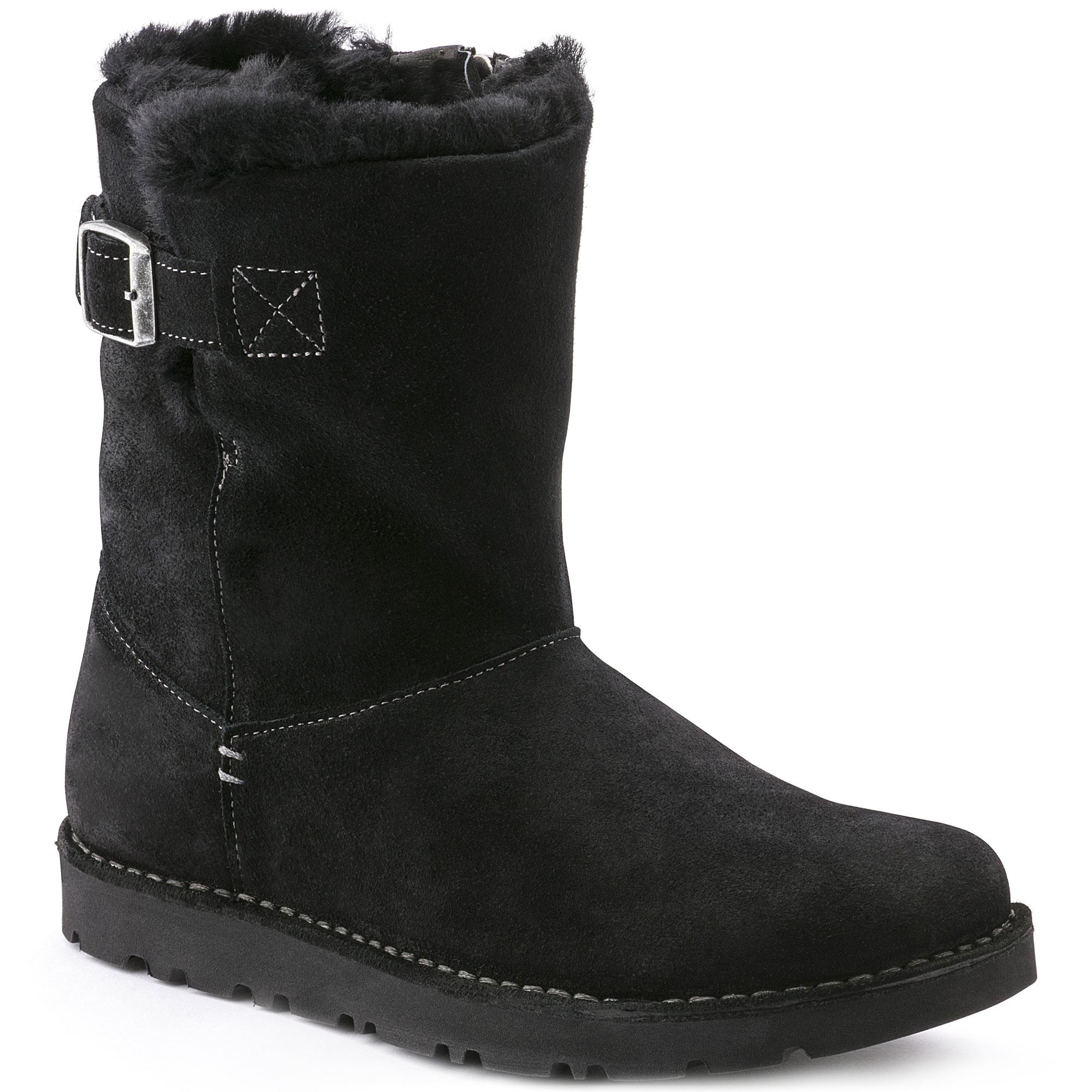Westford Suede Leather Black