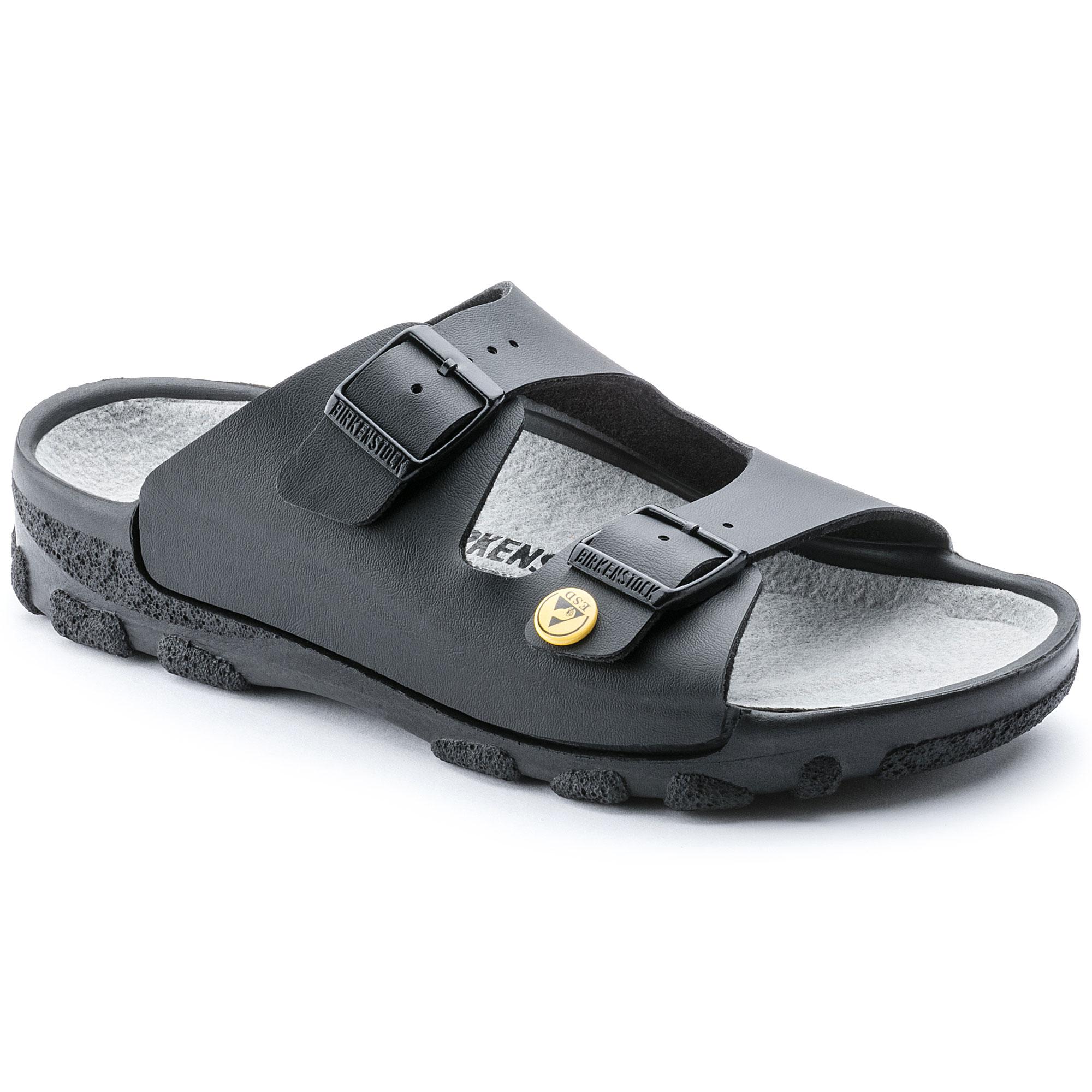 BIRKENSTOCK ARIZONA regular article ビルケンシュトックアリゾナ ESD leather 089420 089428 [black] static electricity measures sandals men gap Dis 2018 new work in