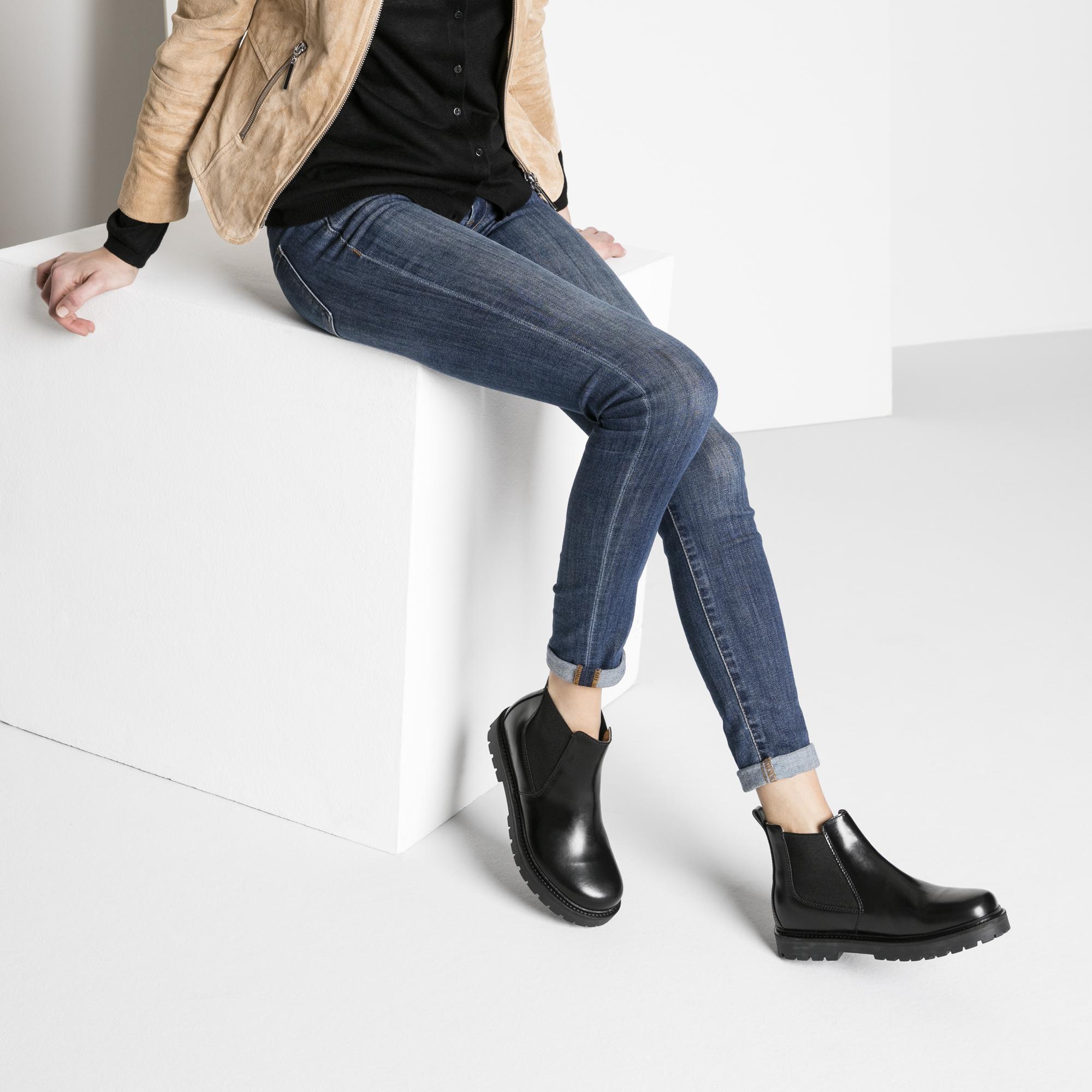 2961b18c552 ... Stalon Natural Leather Black ...
