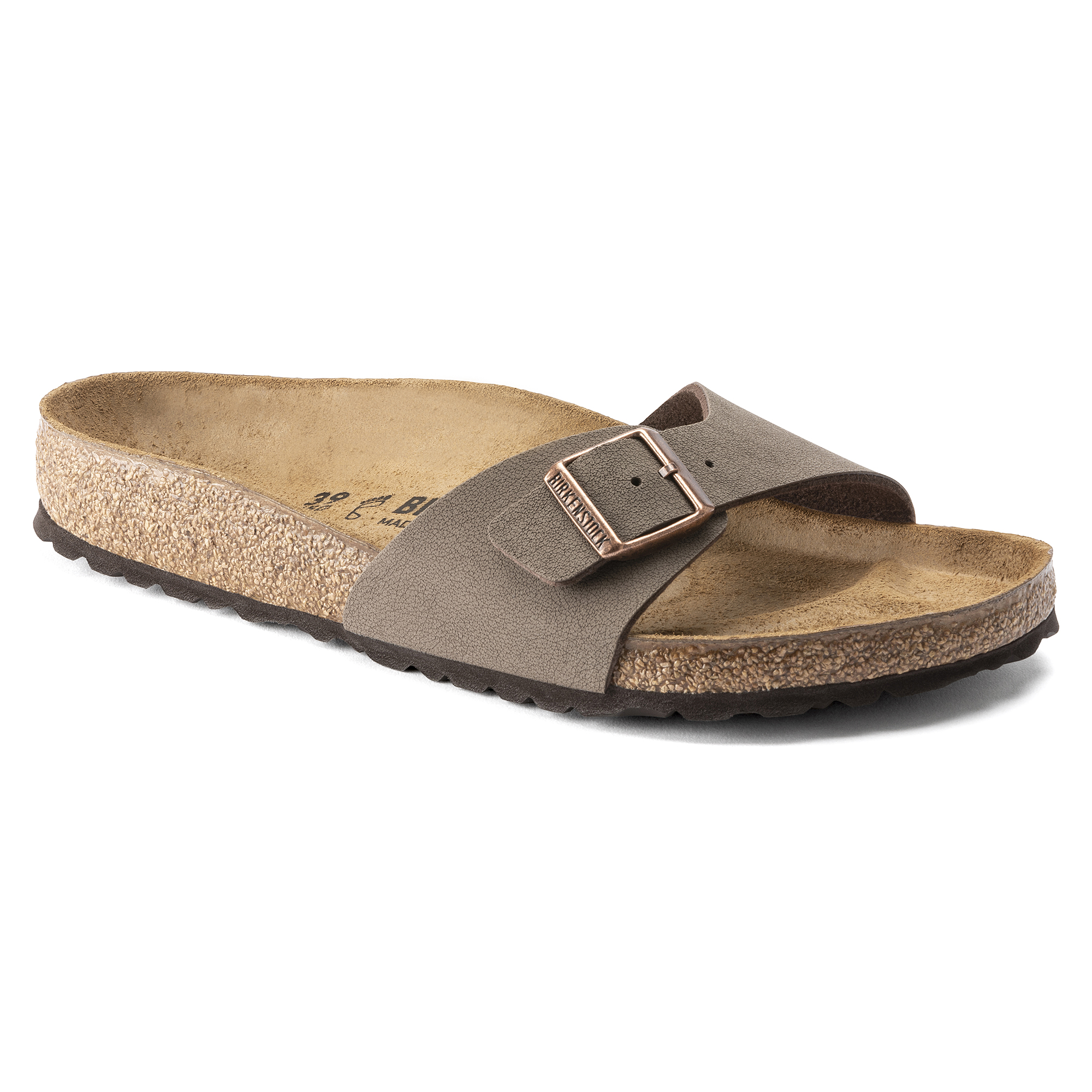 「Madrid Birko-Flor Nubuck Sandals in mocca」的圖片搜尋結果