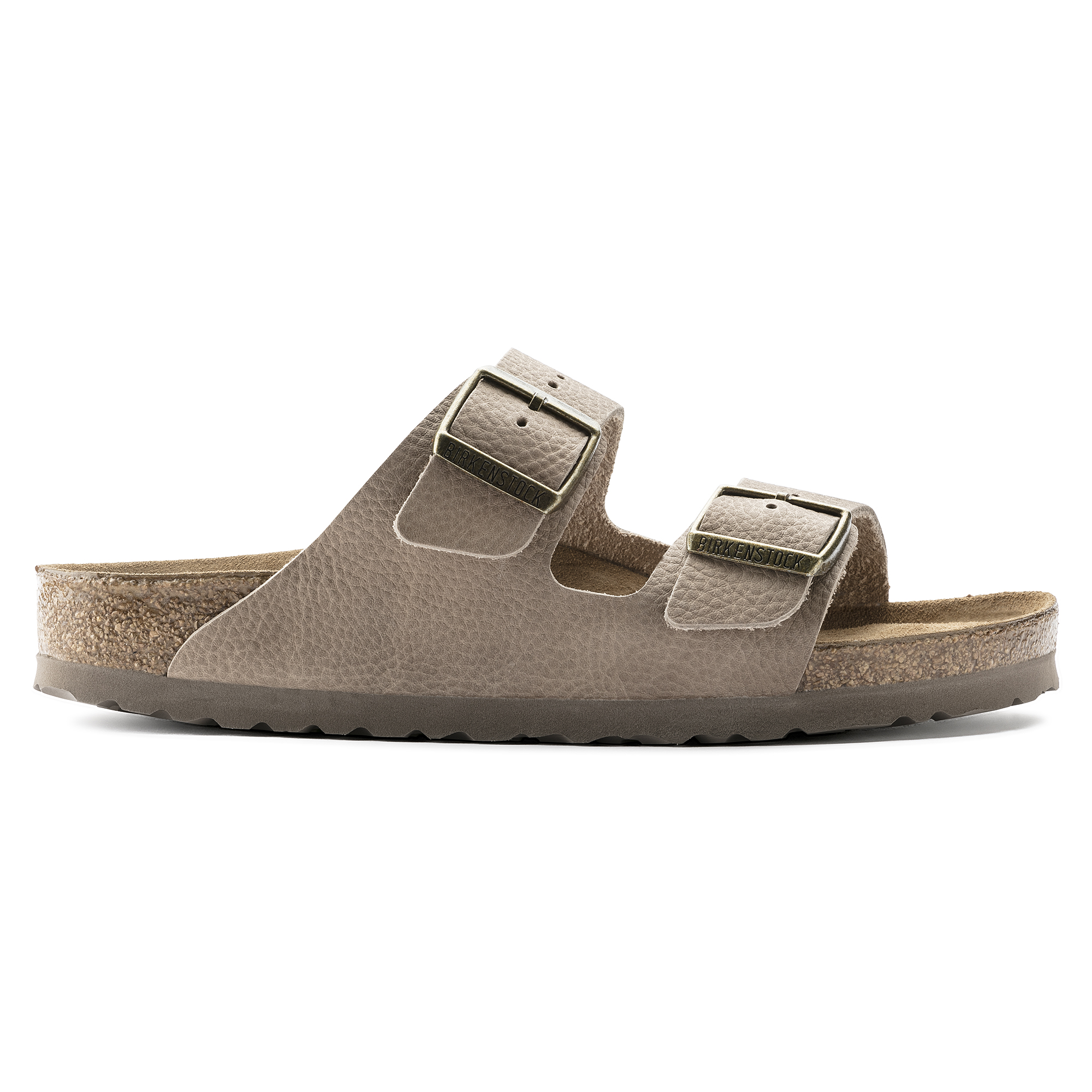 Arizona Nubuck Leather Steer Taupe