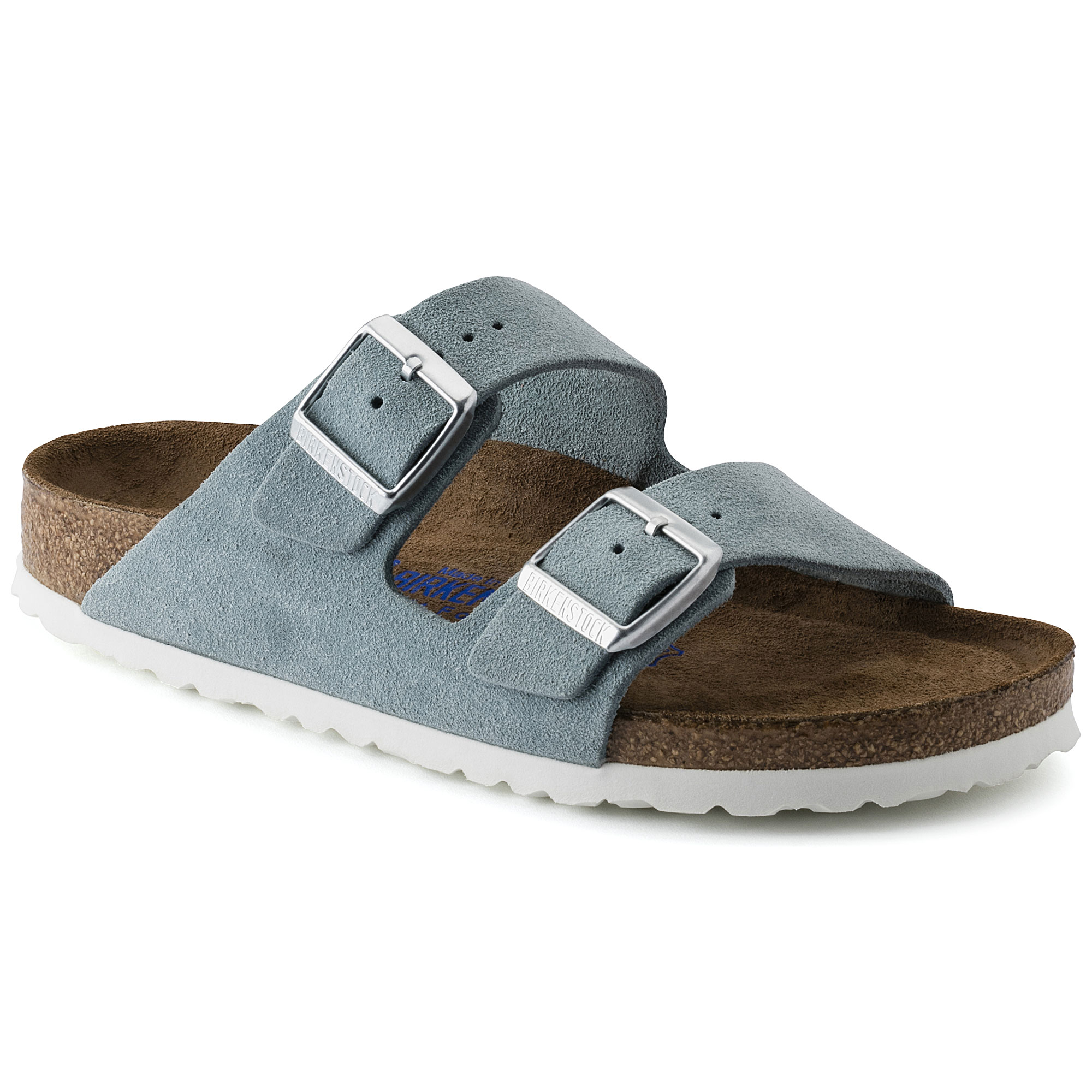 7872a053f42f Arizona Suede Leather Light Blue ...