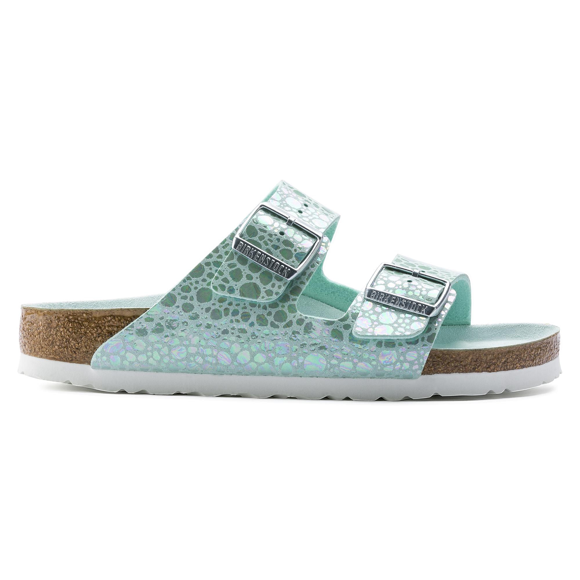 Birkenstock MADRID SLIM Sandal 2019 metallic stones aqua