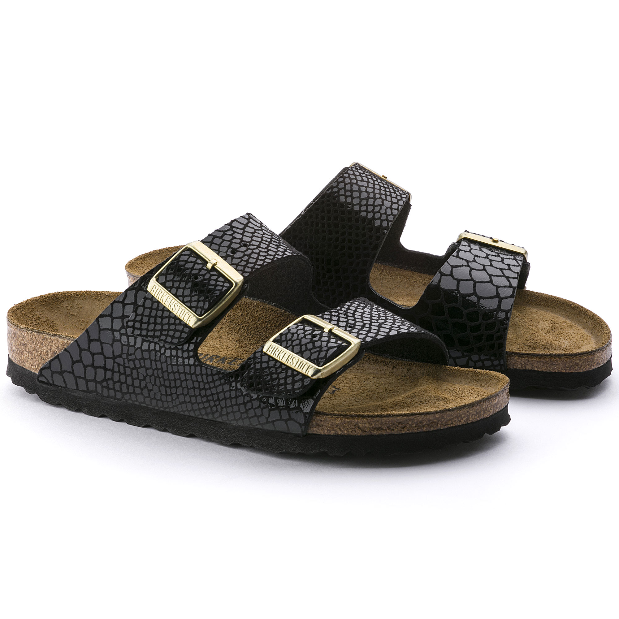 At Shiny Arizona BlackShop Online Birko Birkenstock Flor Snake rdxCeBo