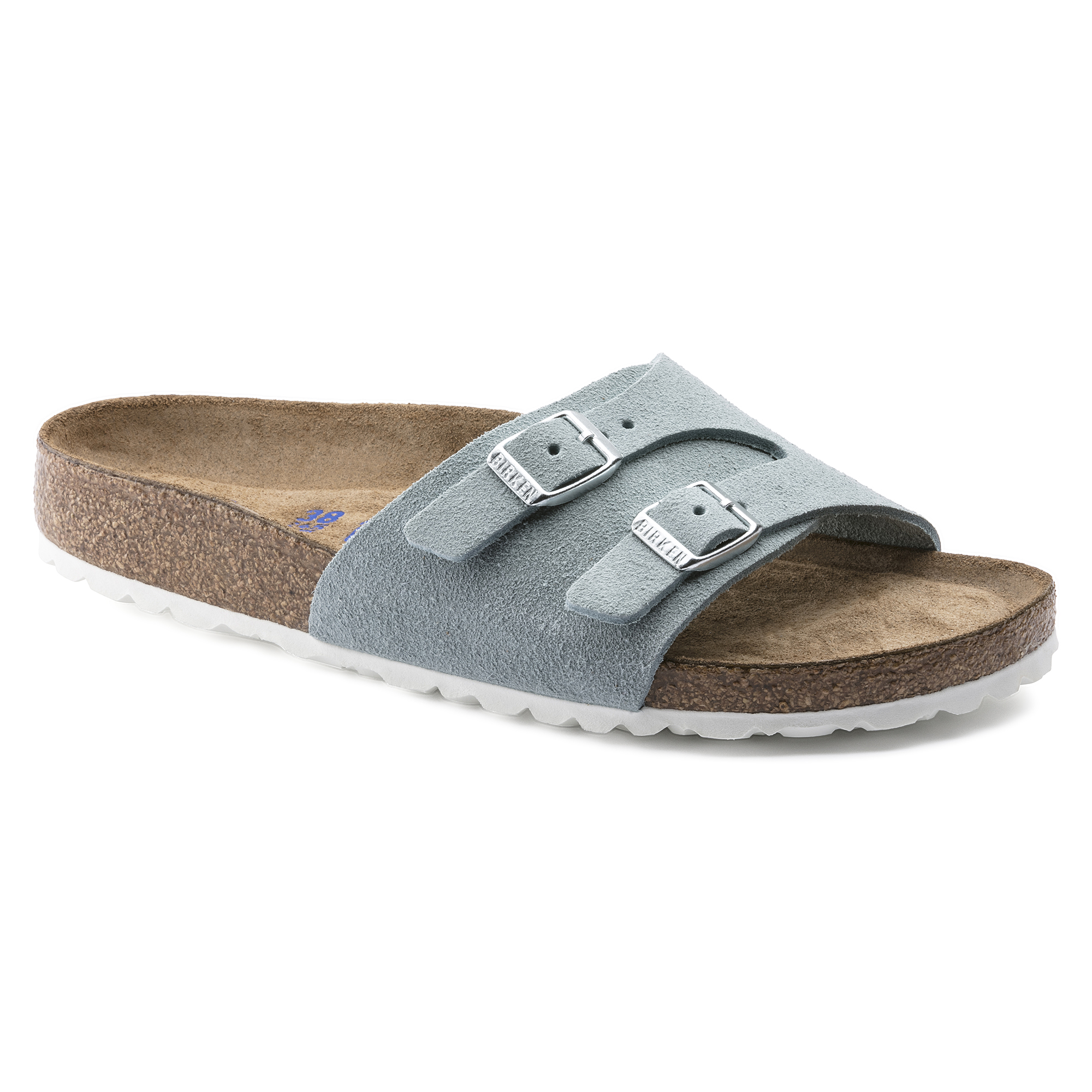 12bc6461e Vaduz Suede Soft Footbed Light Blue ...